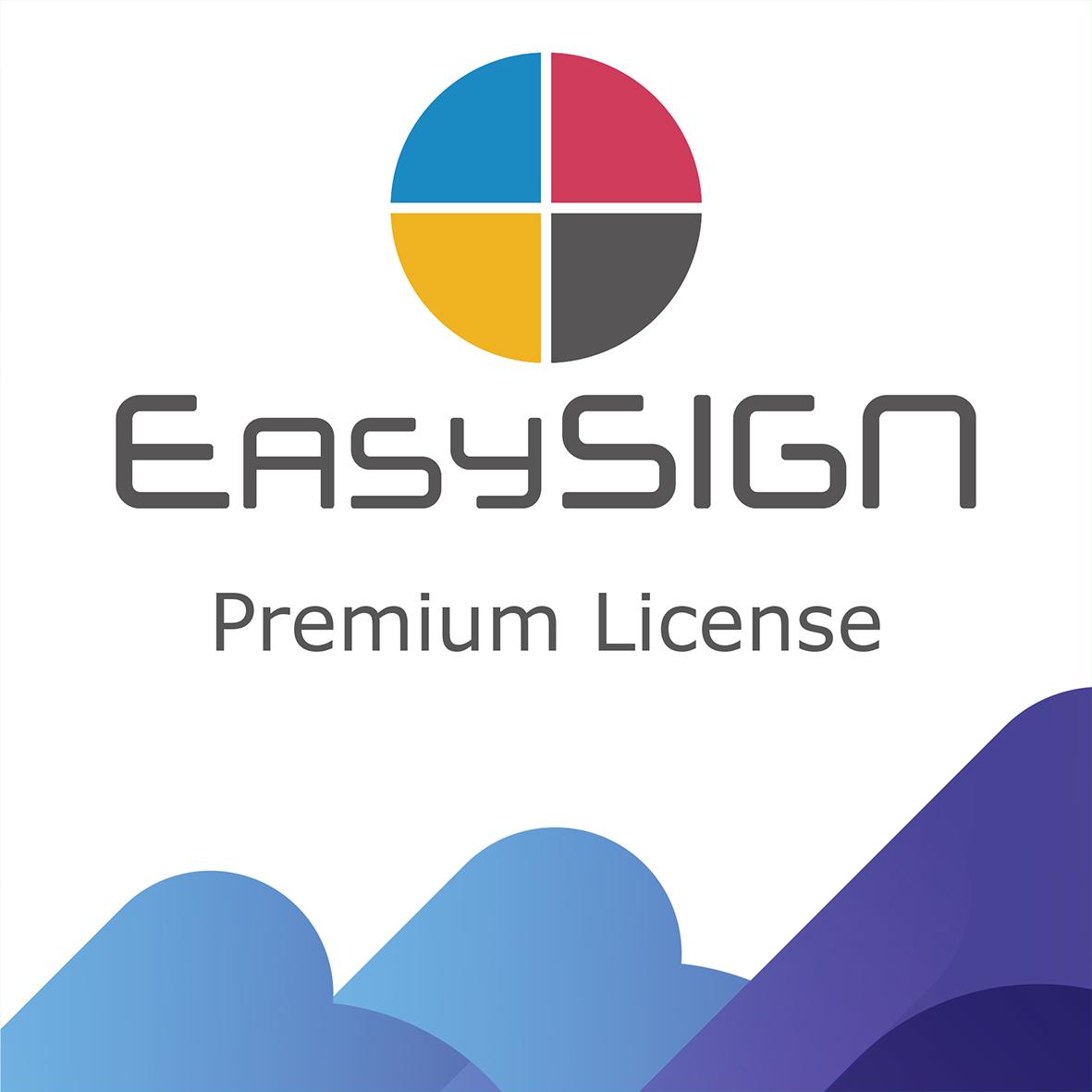 EasySIGN Premium  Abolizenz - Professionelle Grafik- und Folienschnittsoftware