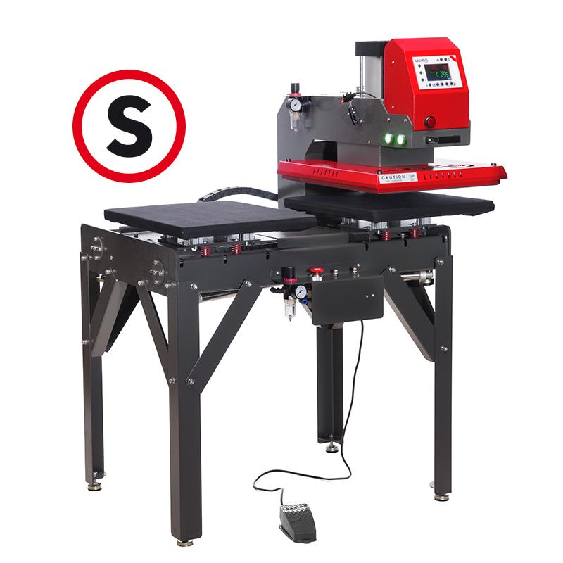 Secabo TPD7 PREMIUM Automatik Doppelplatten Presse